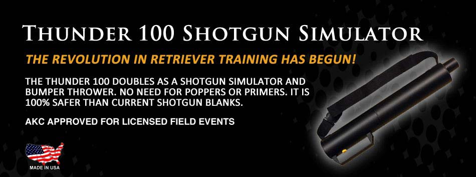 The Revoluntionary Thunder 100 Shotgun Simulator